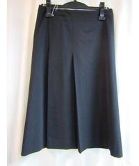 Y's yohji yamamoto femme センタープリーツシンプルスカート