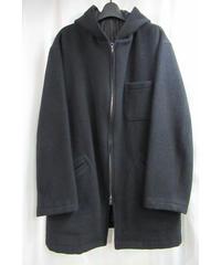 90's Y's for men yoyamamoto フード付きスイングトップハーフコート