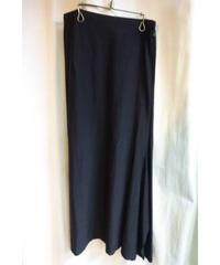 Y's yohji yamamoto femme 黒 変形デザインスカート