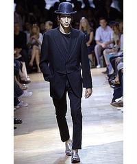 07ss yohji yamamoto pour homme 素材切替えデザインジャケット