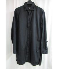 18aw yohji yamamoto pour homme 二重襟デザインロングブラウス HV-B51-016