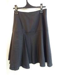 Y's yohji yamamoto femme 黒 デザインミニフレアスカート