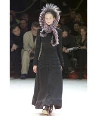 00aw yohji yamamoto femme 中綿入りステッチデザインフレアスカート