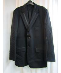 2007aw yohji yamamoto pour homme 黒 タキシードクロス デザインジャケット