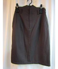 Y's yohji yamamoto femme ひざ丈ウエストデザインタイトスカート