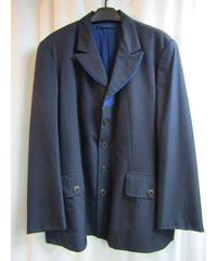 96aw オールドyohji yamamoto pour homme vintage 紺 デニム切替えデザインジャケット