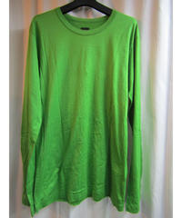 Y-3 yohji yamamoto 黄緑 ロゴプリントデザインTシャツ