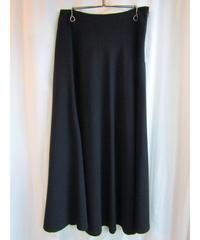 yohji yamamoto +noir femme Y's サイドドレープフレアスカート