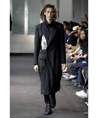 未使用 19ss yohji yamamoto pour homme カッティングデザインロングジャケット HH-J14-100