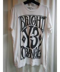 難あり Y-3 yohji yamamoto 白 ビックプリントTシャツ