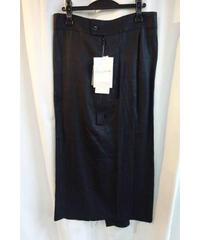 新品 yohji yamamoto femme デザインジッパー付きスカート