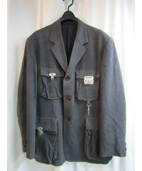 91ss yohji yamamoto pour homme vintage 絹 カバンジャケット