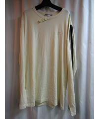 Y-3 yohji yamamoto pour homme 3本ラインデザインTシャツ
