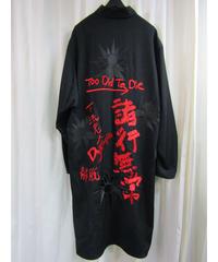 17aw yohji yamamoto pour homme 【諸行無常】刺繍ロングブラウス