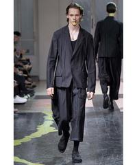16ss yohji yamamoto pour homme 縦ライン デザインショートジャケット