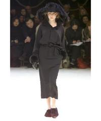 00aw yohji yamamoto femme 襟デザインシンプルロングワンピース