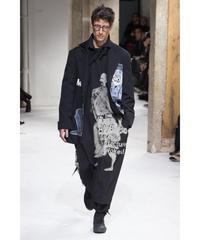 17aw yohji yamamoto pour homme 刺繍デザインジャケット