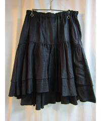 Y's yohji yamamoto ギャザーフレアスカート