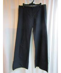 Y's yohji yamamoto 裾ダブル コットンシンプルパンツ YC-P01-006