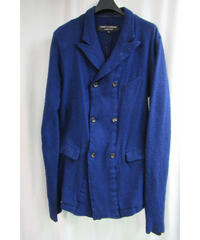 AD1994 COMME des GARCONS HOMME PLUS 縮絨 袖切り替えダブルジャケット PJ-040660