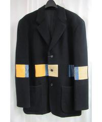 難あり 91aw yohji yamamoto pour homme vintage 黒 ウルトラマンジャケット HJ-33