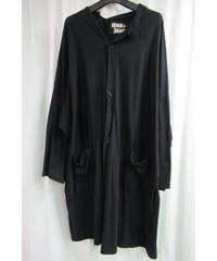yohji yamamoto +noir BLACK and BLACK 変形襟デザインシャツジャケット ND-T83-067