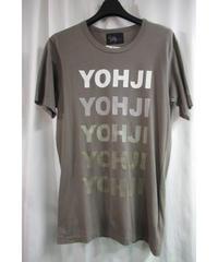 11ss yohji yamamoto pour homme カーキ ロゴ入りカットソー HO-T86-794