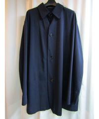 93ss オールドyohji yamamoto pour homme vintage 紺ステンカラーシャツジャケット