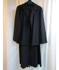Y's yohji yamamoto femme Aラインスカートセットアップスーツ