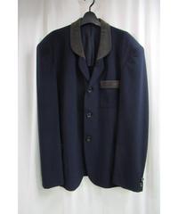 88ss yohji yamamoto pour homme vintage 紺 アイレットジャケット
