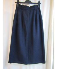 オールド Y's yohji yamamoto femme ネイビーAラインスカート