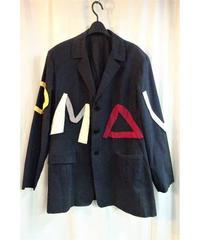 1990ss オールドyohji yamamoto pour homme vintage アルファベットジャケット