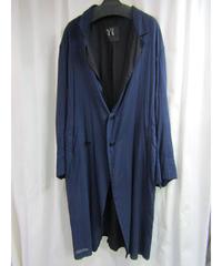 Y's yohji yamamoto 素材切り替えロングジャケット