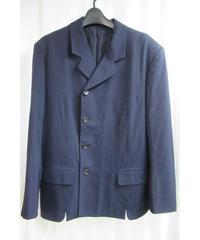 88aw yohji yamamoto pour homme vintage 紺 デザインジャケット HJ-6
