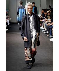 19ss yohji yamamoto POUR HOMME レオパード浮世絵スカート