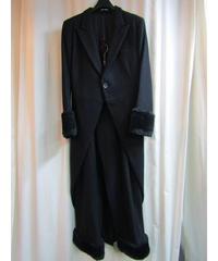 Y's yohji yamamoto femme 裾ファー付燕尾セットアップ