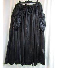 Y-3 yohji yamamoto レイヤードデザインフレアスカート