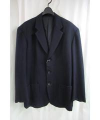 80's SAMPLE yohji yamamoto pour homme vintage 紺 シンプルジャケット HJ-32