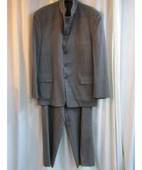 オールド 95ss yohji yamamoto pour homme グレー 2way三つ釦スーツ セットアップ