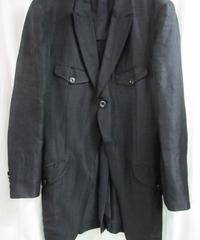02aw yohji yamamoto pour homme 変形燕尾デザインジャケット HM-J42-212