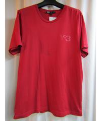 Y-3 yohji yamamoto 赤 ロゴプリントTシャツ