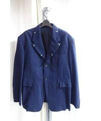 サンプル1点物 オールドyohji yamamoto pour homme 紺 デザインビートルズジャケット