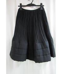 AD1989 COMME des GARCONS プリーツ加工デザインスカート
