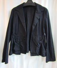08ss yohji yamamoto femme  ボタンレスデザインジャケット
