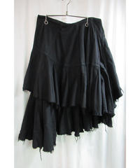 AD2004 JUNYA WATANABE COMME des GARCONS アシメトリーデザインフレアスカート