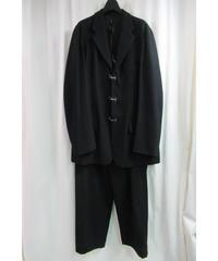 99aw yohji yamamoto pour homme vintage ジプシー カギホックボタンセットアップ HN-J63-151
