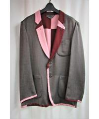 AD2001 COMME des GARCONS HOMME PLUS 裏地切替えデザインジャケット PJ 10067M