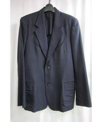 02aw Y's for men yohji yamamoto ストライプデザインジャケット ME-J21-110
