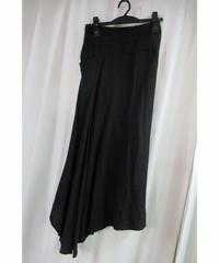 Y's yohji yamamoto アシメトリーデザインロングスカート