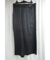 新品 05ss yohji yamamoto femme デザインジッパー付きスカート